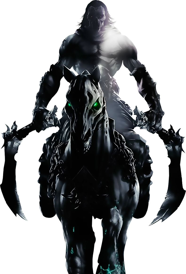 Darksiders II - Death 2 by IvanCEs