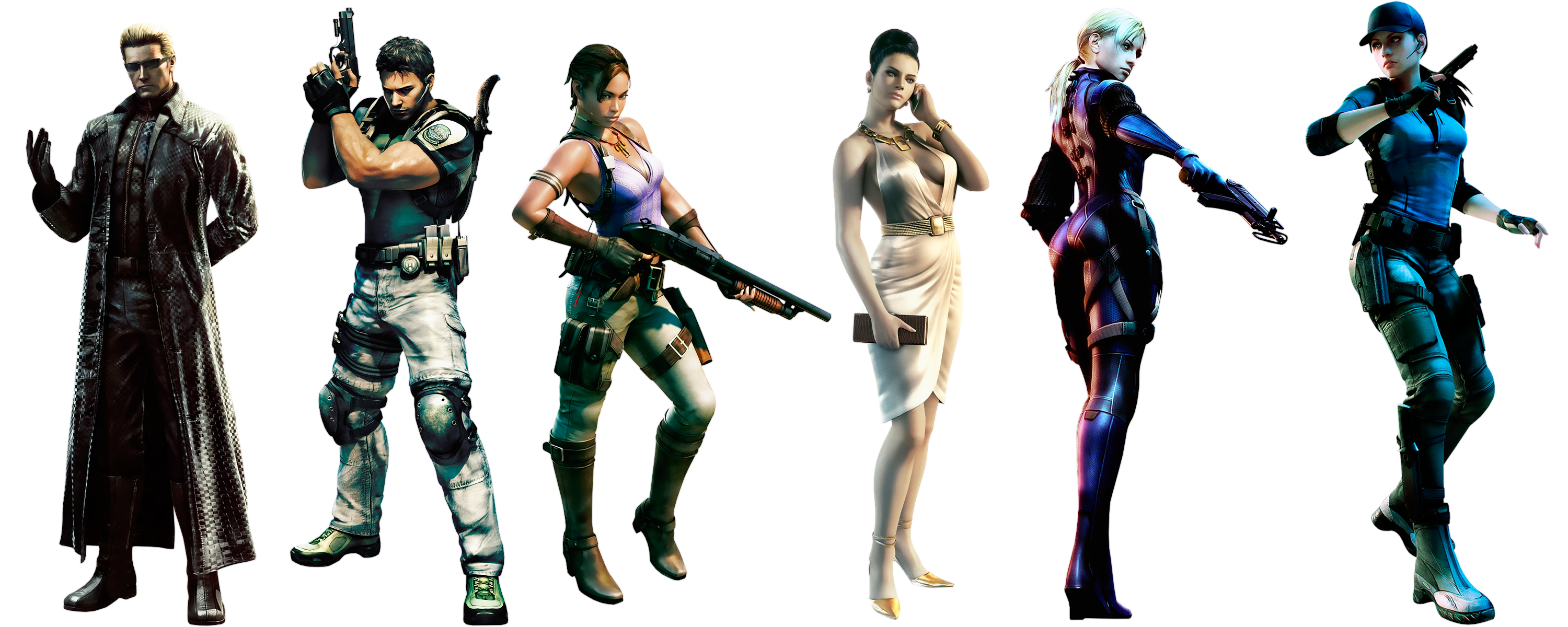 Resident Evil 5 Characters By Ivances On Deviantart