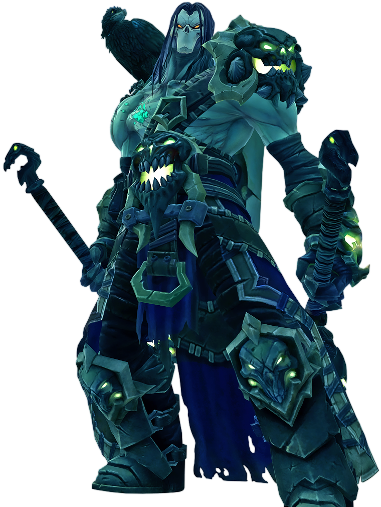 Darsiders II - Shadow of Death armor set by IvanCEs