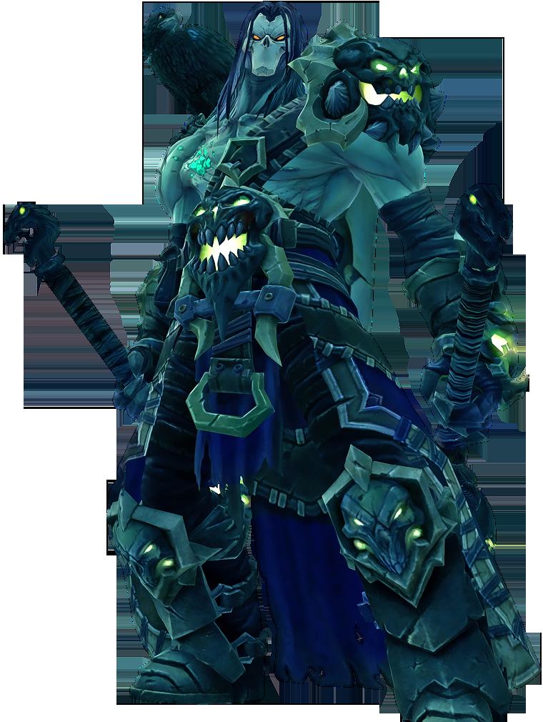 Darsiders II - Shadow of Death armor set by IvanCEs
