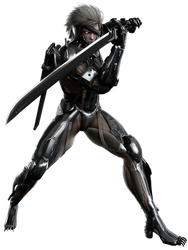 Metal Gear Rising Revengeance - Raiden by IvanCEs