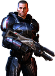 Male Shepard Heavy N7 Suit