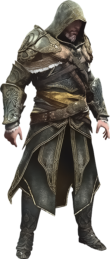 AC Revelations - Ezio in Master Assassin Armor by IvanCEs
