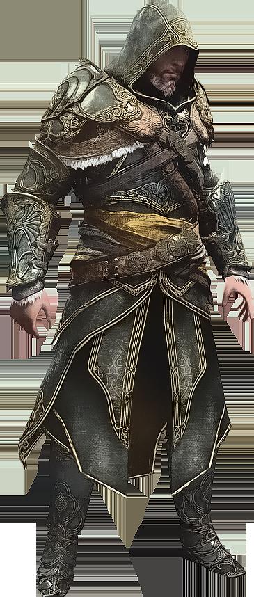 AC Revelations - Ezio in Master Assassin Armor by IvanCEs