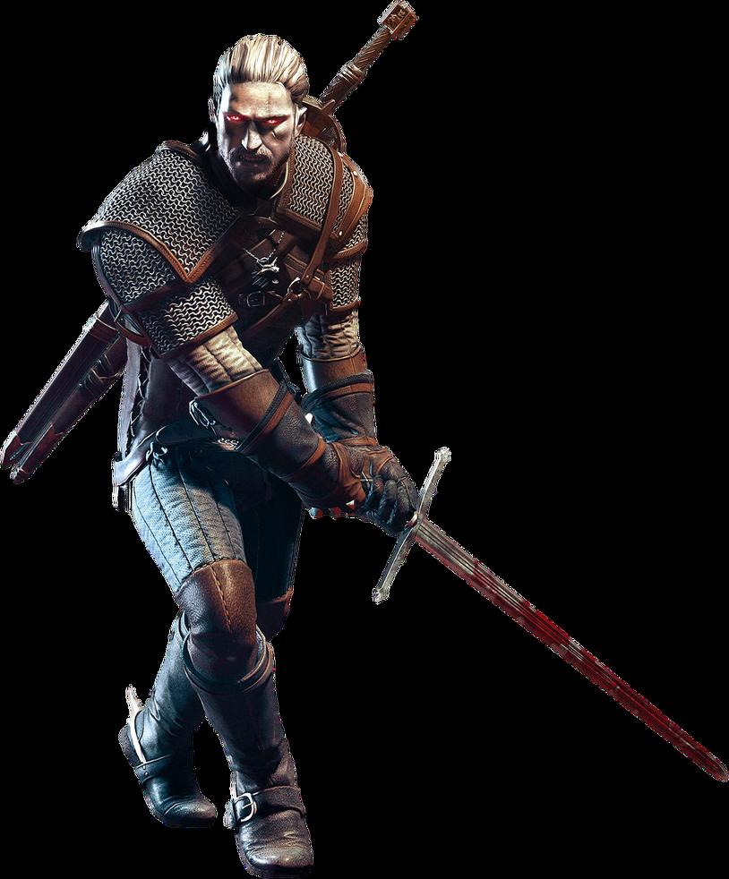 Geralt of Rivia 2 by IvanCEs