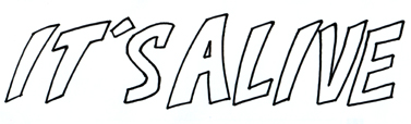 Its Alive font by tedbergeron