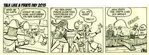 Talk Like A Pirate Day - inks