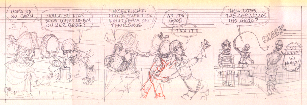 Talk Like A Pirate Day - pencils by tedbergeron