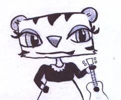 Tiger-holding-uke by tedbergeron
