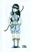 Elf costume design by tedbergeron