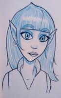 Elf character by tedbergeron