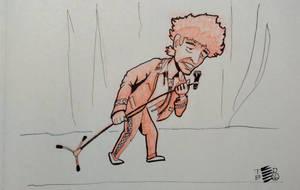 Bob Dylan performance by tedbergeron