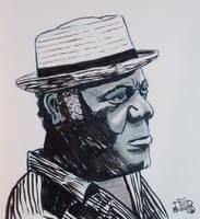 Henry 'Pop' Hunter by tedbergeron