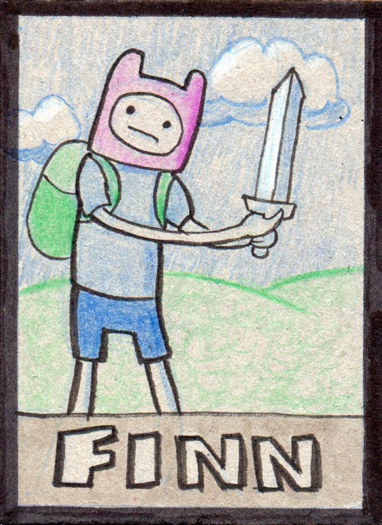 AdventureTime : Finn by tedbergeron