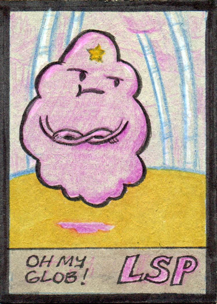 AdventureTime: Lumpy Space Princess by tedbergeron