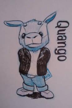 Quango new character sketch idea