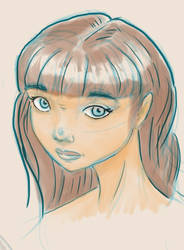 Digital sketch and painting