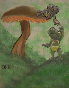 Teeny Tiny Toads lends a helping hand