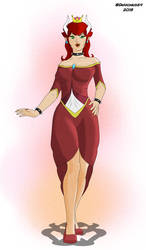 Bowsette by Darkonius64