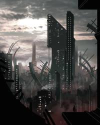 Ville_Sci-Fi by mistermanga