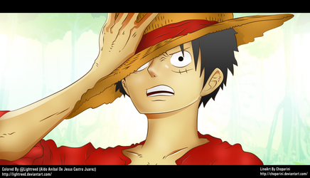 Monkey D Luffy Time Skip by lightreed