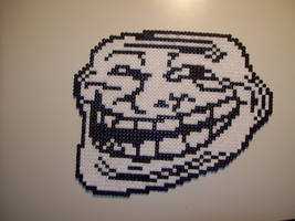 Troll Face Bead Sprite by TameFlame