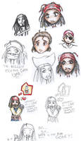 Expressions of Jack Sparrow