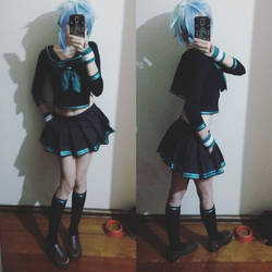 CosplayPreview: SINON School Girl