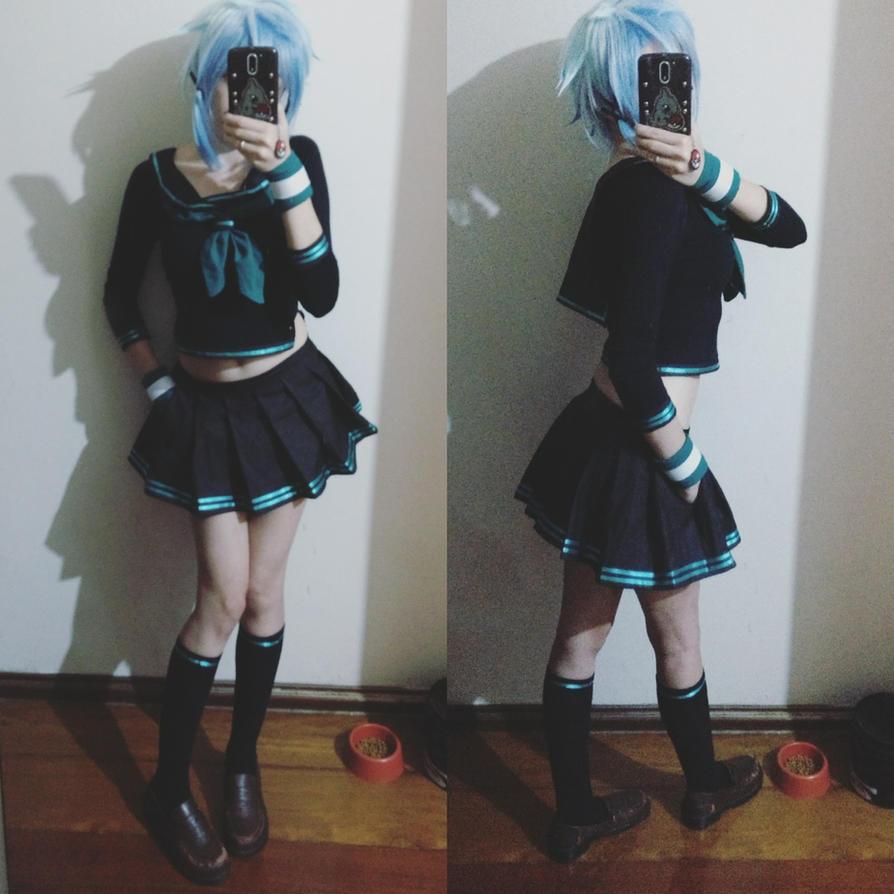 CosplayPreview: SINON School Girl by natsu-cchi