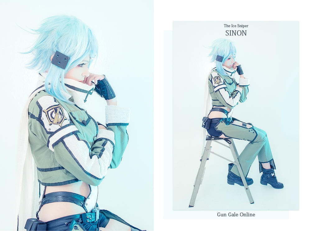 Ice Sniper SINON by natsu-cchi