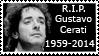 R.I.P. Gustavo Cerati by OverusedCupcakes