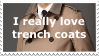 Trench coats, yay! by OverusedCupcakes