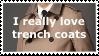 Trench coats, yay! by OverusedCupcakes