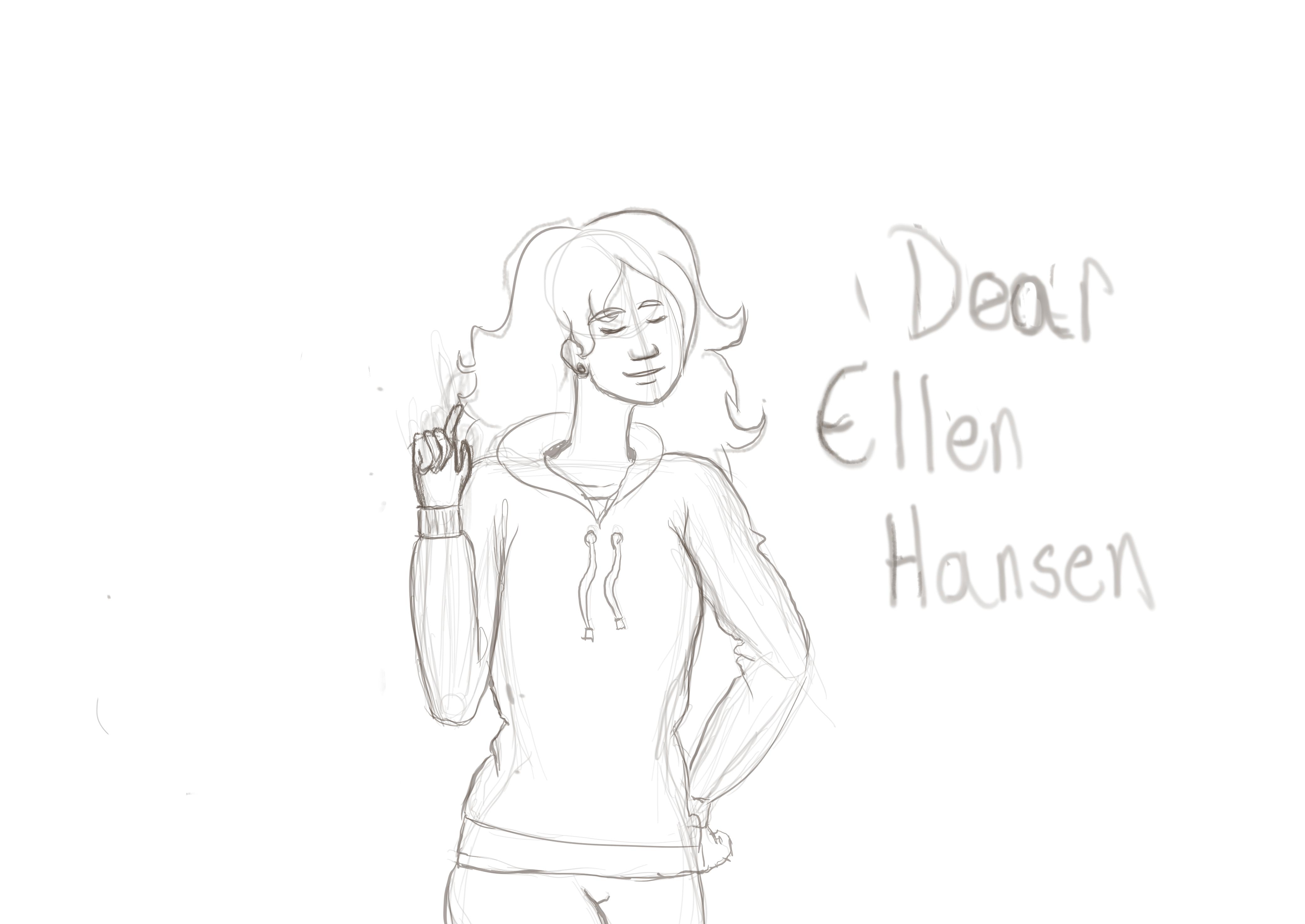 Dear Ellen Hansen by rosieemunro