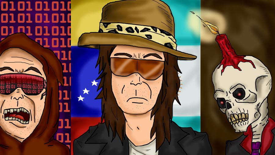 mi nuevo dibujo de DROSS ROTZANK by luiselarchienemigo17
