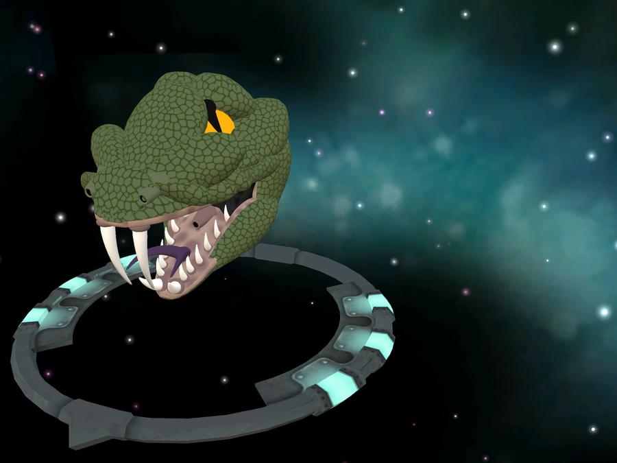 Spore spaceship snake head by dassilberdrachen on deviantart - Spore galactic adventures wallpaper ...