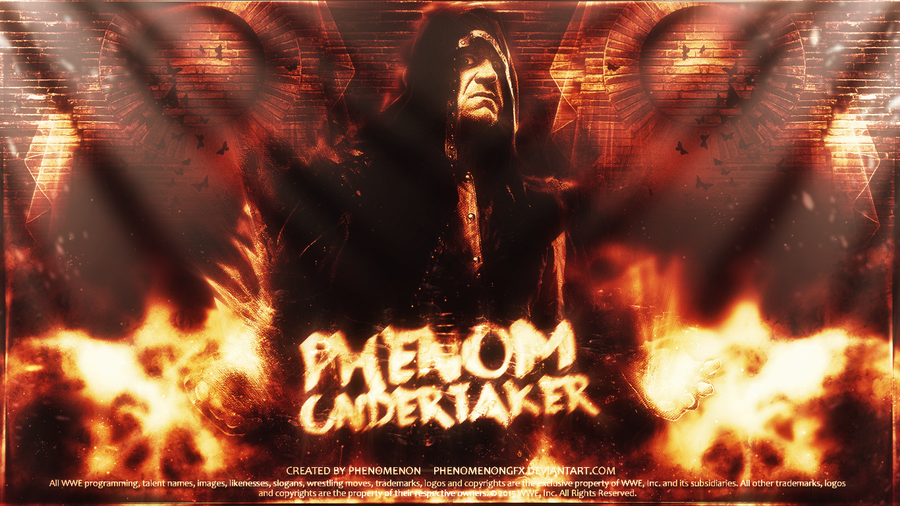 The Undertaker Wallpaper By PhenomenonGFX