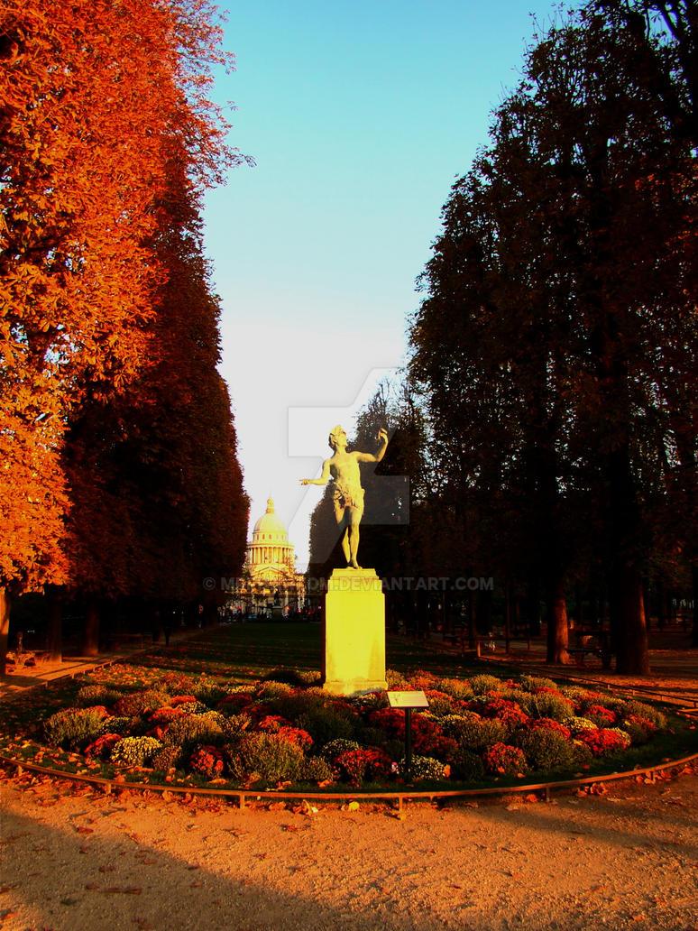 Jardin du luxembourg iv by mrphantom on deviantart for Art du jardin zbinden sa