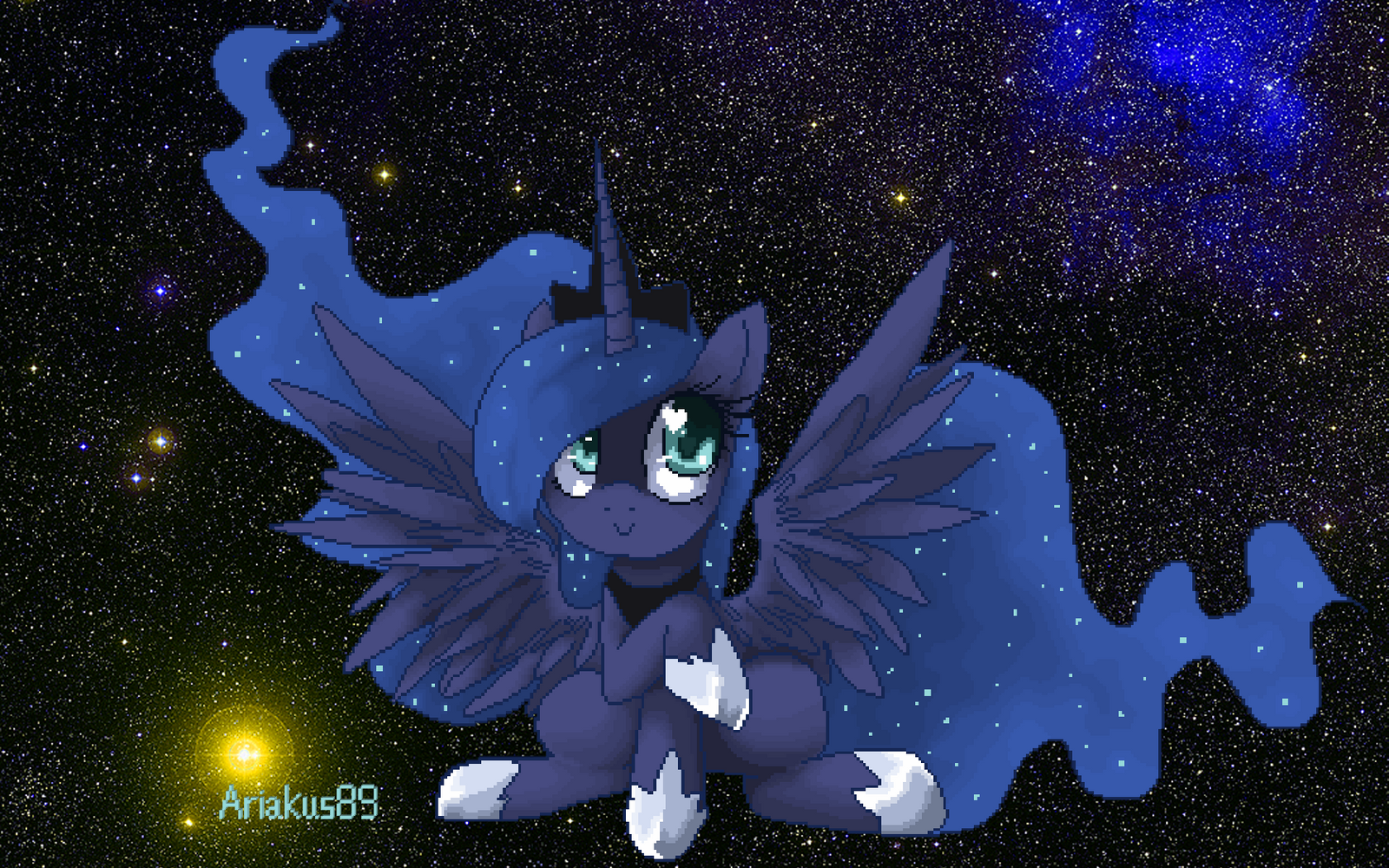 Minecraft Cutesy Wutsy Luna + Timelapse Video by Ariakus89
