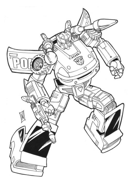 Prowl g1 by hybridav on deviantart for Transformers g1 coloring pages