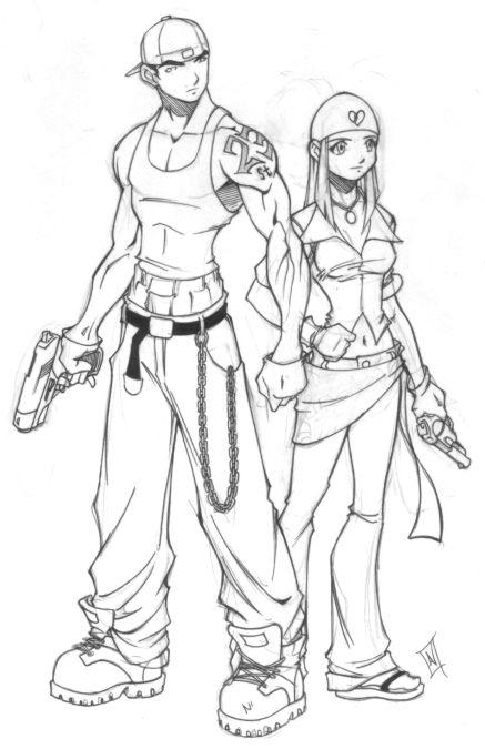 GTA-Grand Theft Anime by hybridav