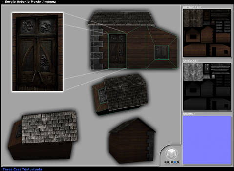 Haunted House 3D Layout