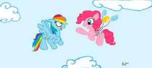 Rainbow Y Pinkie