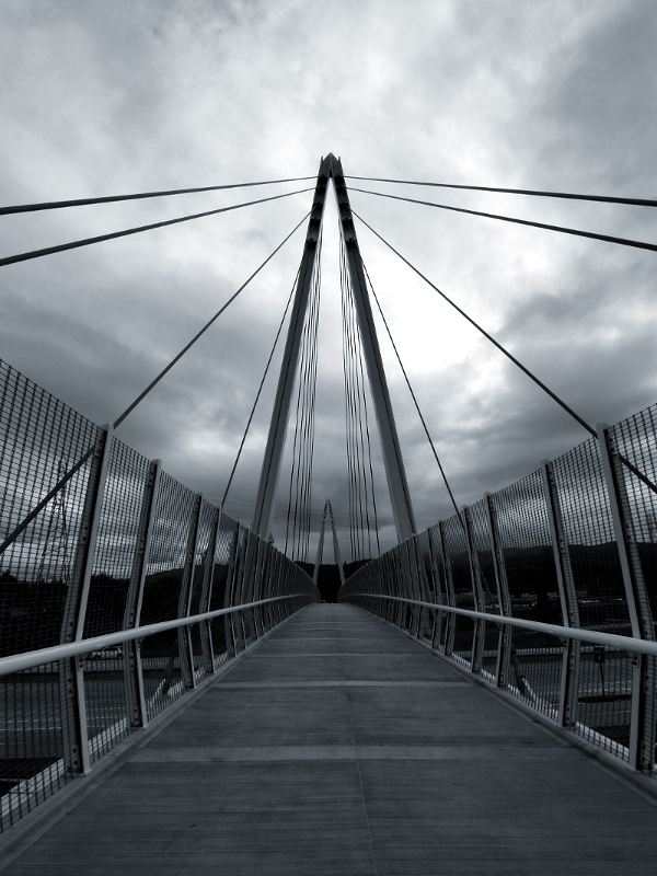 Photo - Bridge to Oblivion by AtomicBrownie