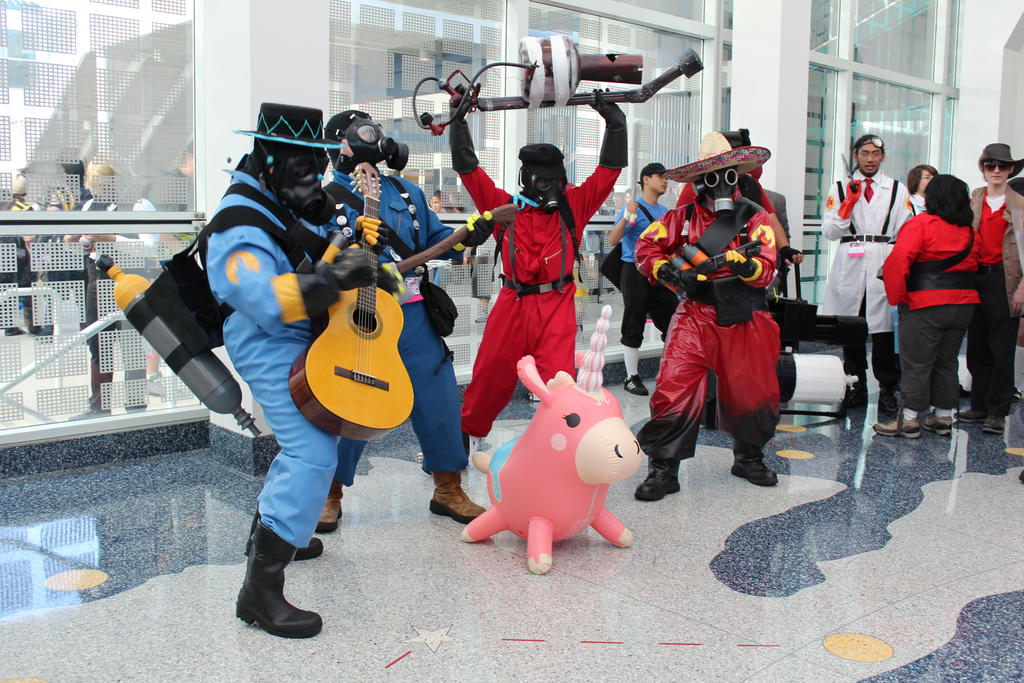 Party of the Pyros - AX 2012 by AtomicBrownie