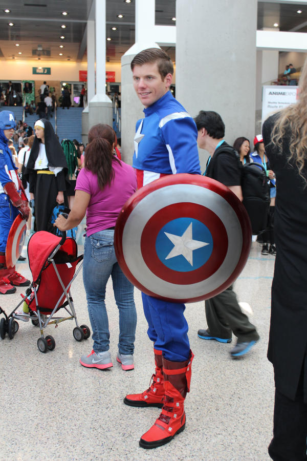 Captain America - AX 2012 by AtomicBrownie