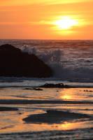 Sunset Splash by AtomicBrownie