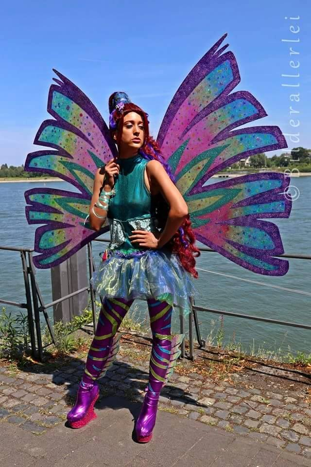 Aisha/Layla (WinX Club) Sirenix Transformation by Fangx3