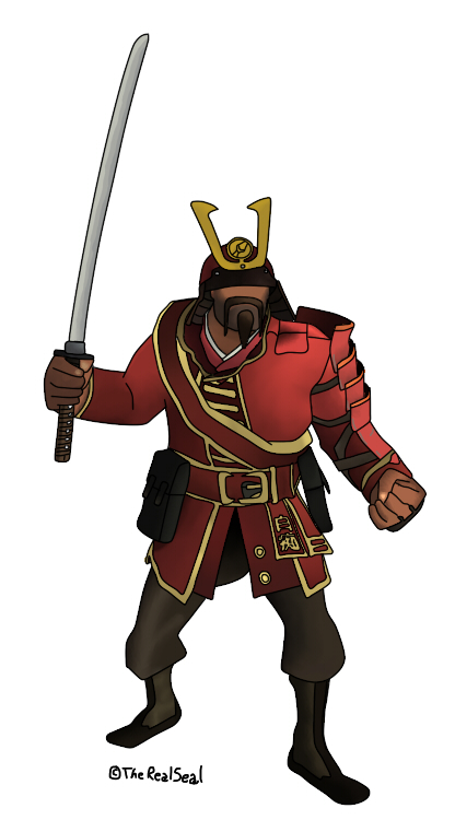 The Samurai Soldier Pack (Team Fortress 2 > Skins ...  |Tf2 Samurai Hat