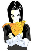 Android 17 by Silver-Queen